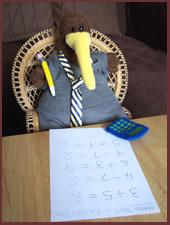 Kevin's Maths Test